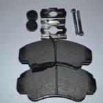 Колодки тормозные передние Х244 Р16 2391901