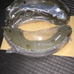 Колодки тормозные задние X244 R15 (барабанные тормоза) BK4073