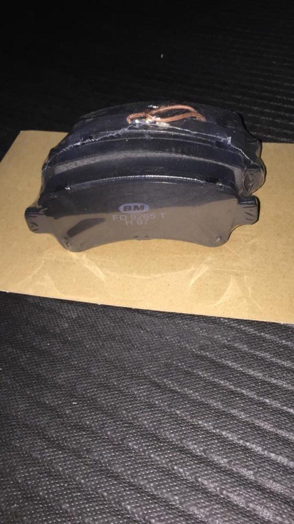 Колодки тормозные задние X250 R16 BMFD9265T